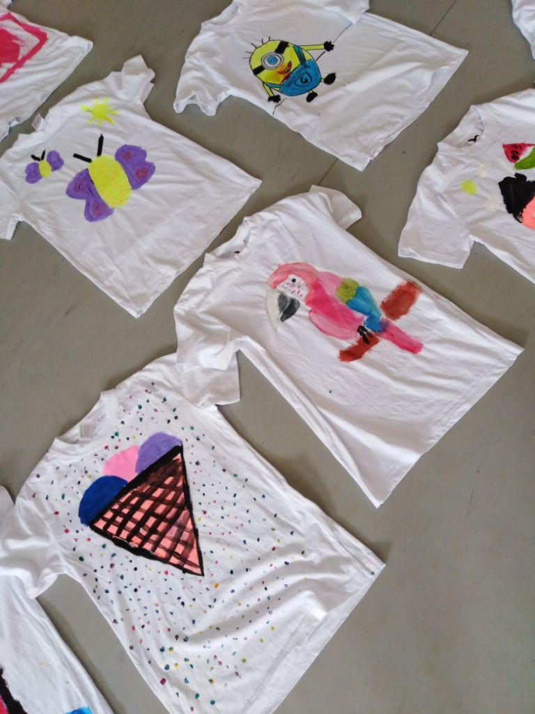 Malování triček